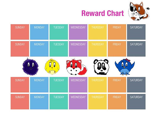 Spunkiez Heroes® Reward Chart
