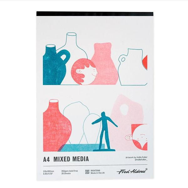Fred Aldous Sketchbook Cover Illustration