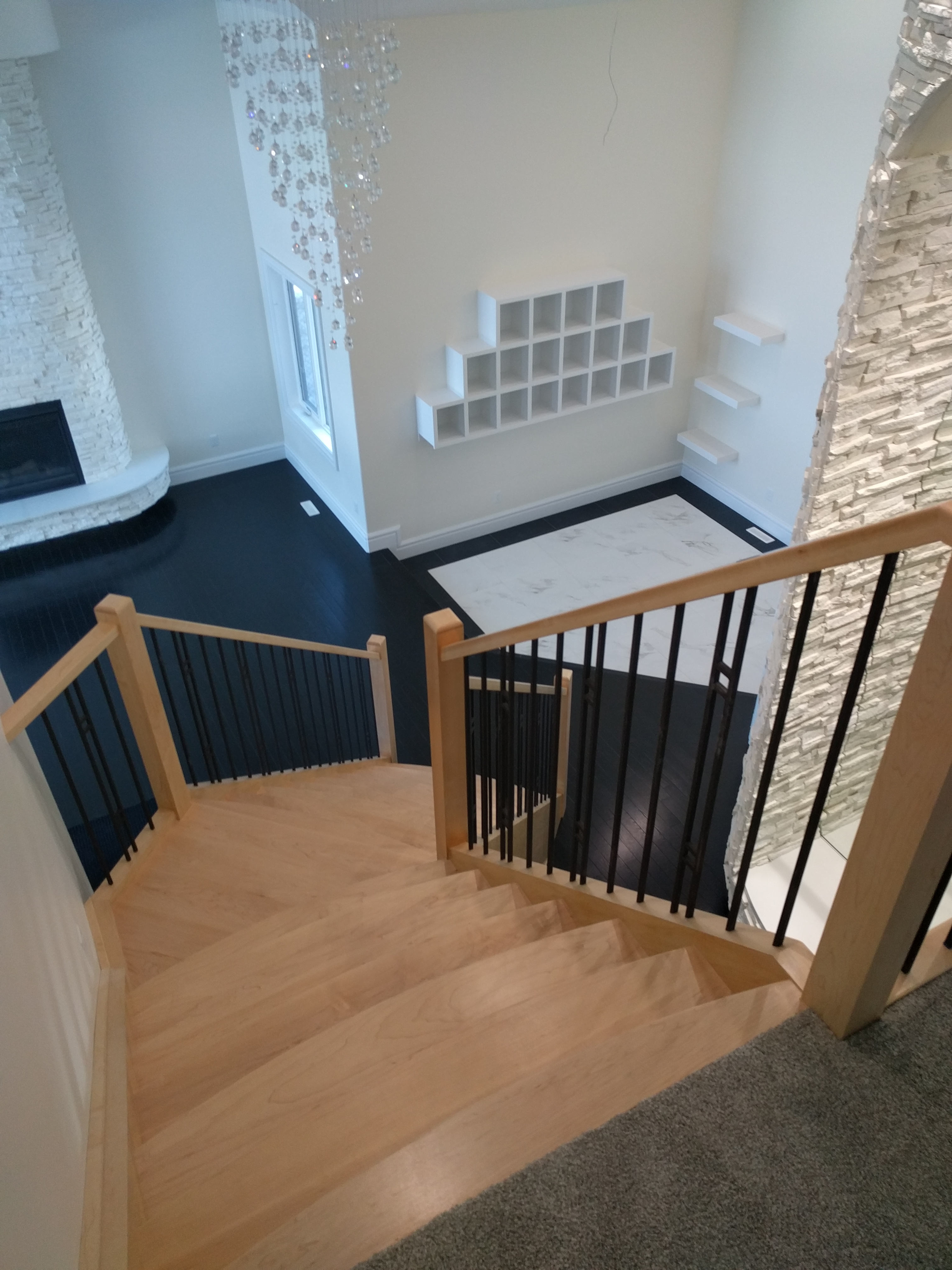 Bird's Eye View of Foyer