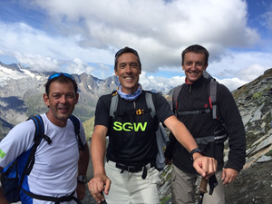 """""""oben"""" - Sascha, Jürgen & Mirko"""