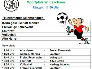 Fussballturnier der SGW-Abteilungen