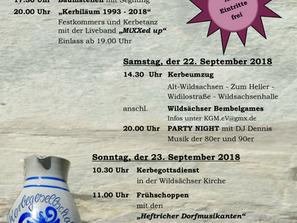 Kerbiläum 1993 - 2018