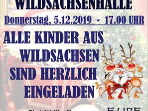 Nikolausfeier der SG Wildsachsen am 05.12.2019