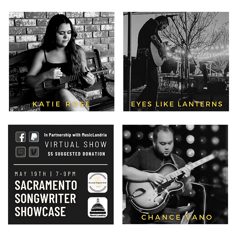 Sacramento Songwriter Showcase: Katie Rose, Eyes Like Lanterns and Chance Vano