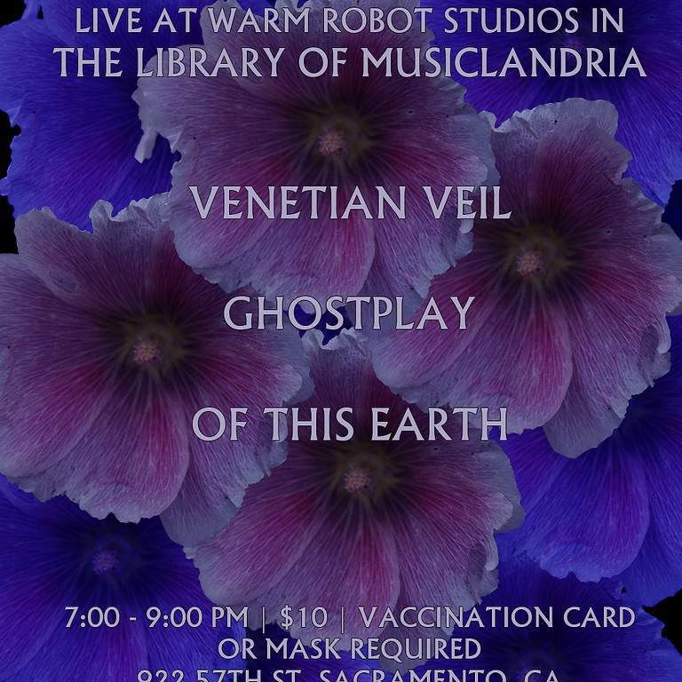 Live at Warm Robot Studios - Venetian Veil, Ghostplay, Of This Earth