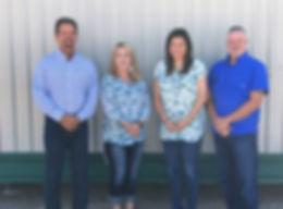 Buchanan Disposal Solutions Team, Julie Tarr, Trisha Molloy, Brenon Young, Richard Lee
