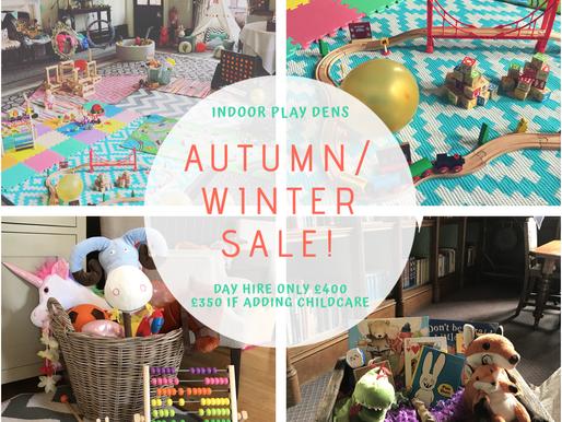 Wedding Entertainment for Children | Autumn / Winter Sale!