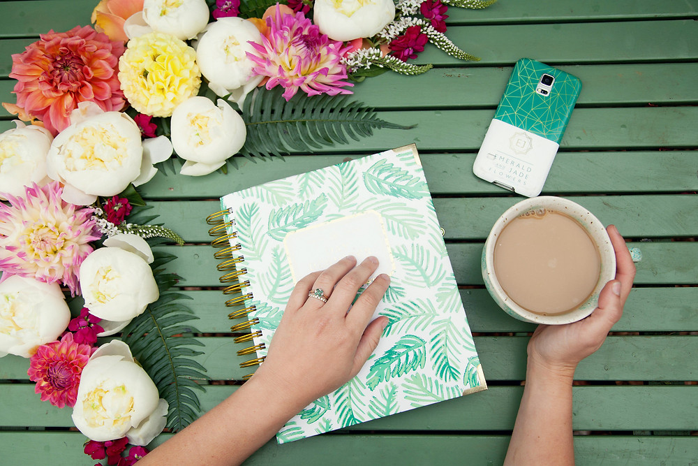Emerald & Jade Flowers