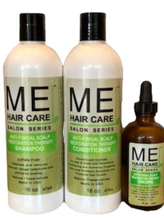 Anti Fungal Hair & Scalp Restoration Therapy System