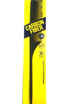 Carbon Fiber Rat Tail Comb