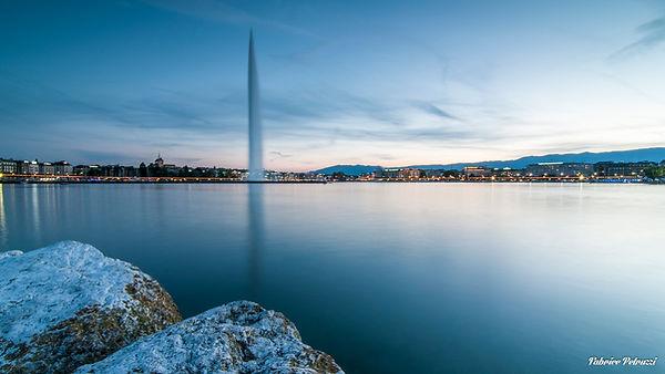 Genève à l'heure bleu