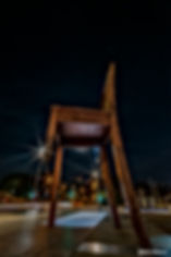 The Chair by night