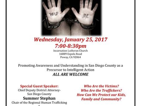 Human Trafficking Awareness Event