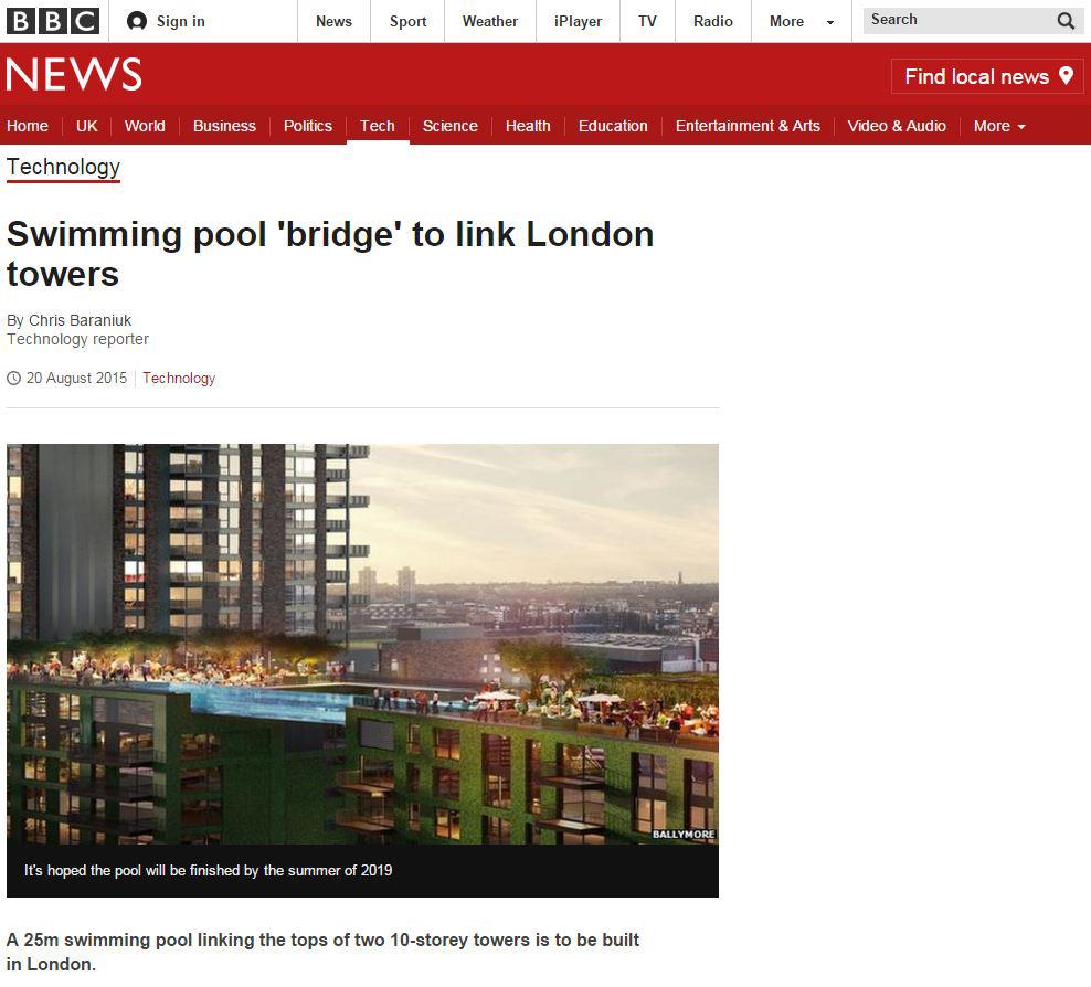 BBC Article on Nine Elms