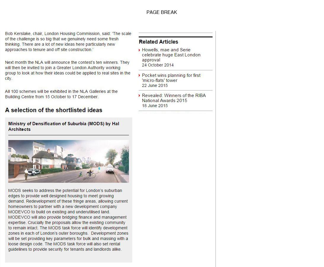 London's Housing Crisis - Page 2