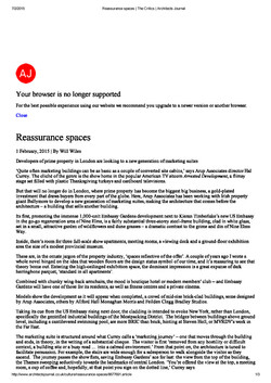 Reassurance Spaces-Page 1