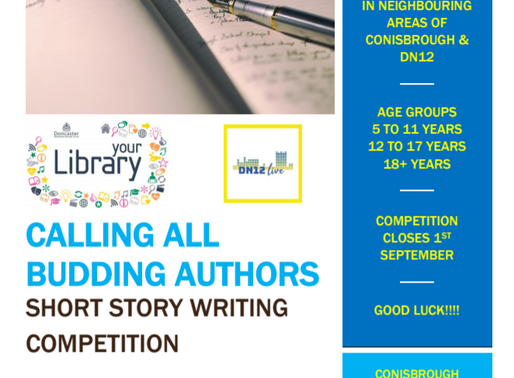 Writing Competition Enter Now!