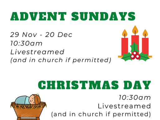 Christmas at Conisbrough St Peters Church.