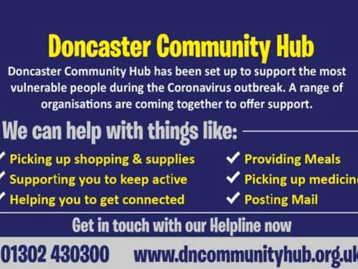 Support Hub Launched in Denaby