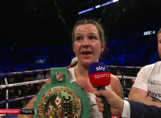 Terri Harper becomes Boxing World Champion