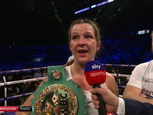 Terri Harper becomes Boxing World Champion