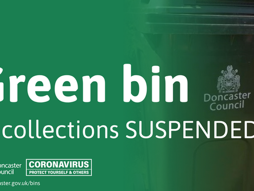 GREEN BINS SUSPENDED FOR 2020