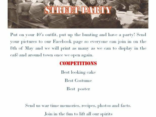 Mexborough Tea Rooms Want your VE Day Celebration Photo's and More!
