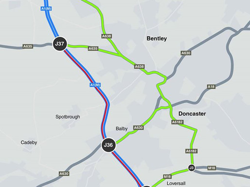 J35 at Warmsworth Closure Times and Dates