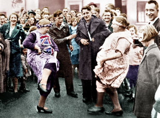 Denaby VE Day from the South Yorkshire Times Archive
