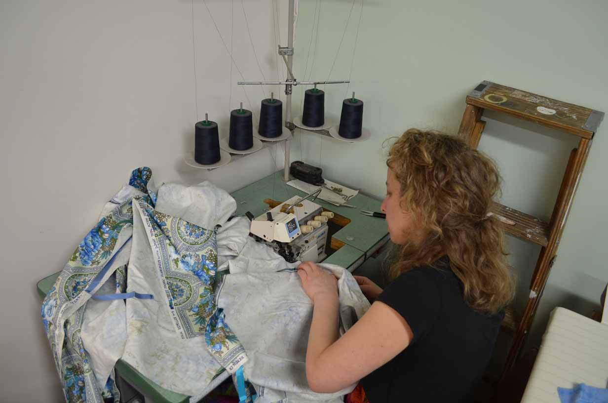 Sewing Cloth Gowns