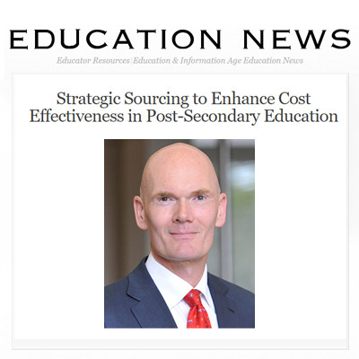 Strategic Sourcing to Enhance Cost Effectiveness in Post-Secondary Education