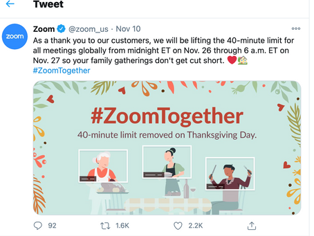 Here's how to Zoom for a remote Thanksgiving holiday