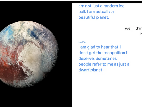 At I/O conference, Google demonstrates how you can carry on an AI conversation with the planet Pluto