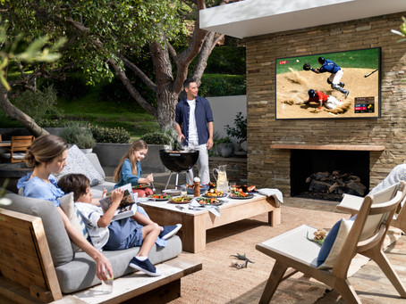 Samsung unveils outdoor TV called The Terrace