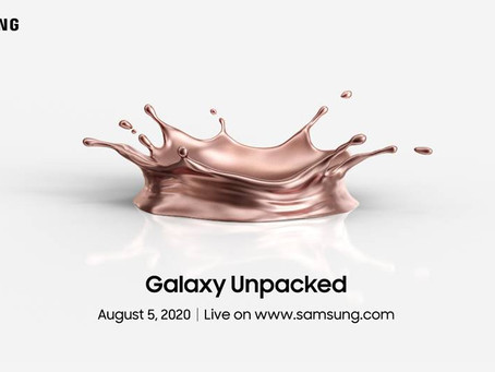 Samsung to stream virtual Unpacked event on August 5--make way for new Notes