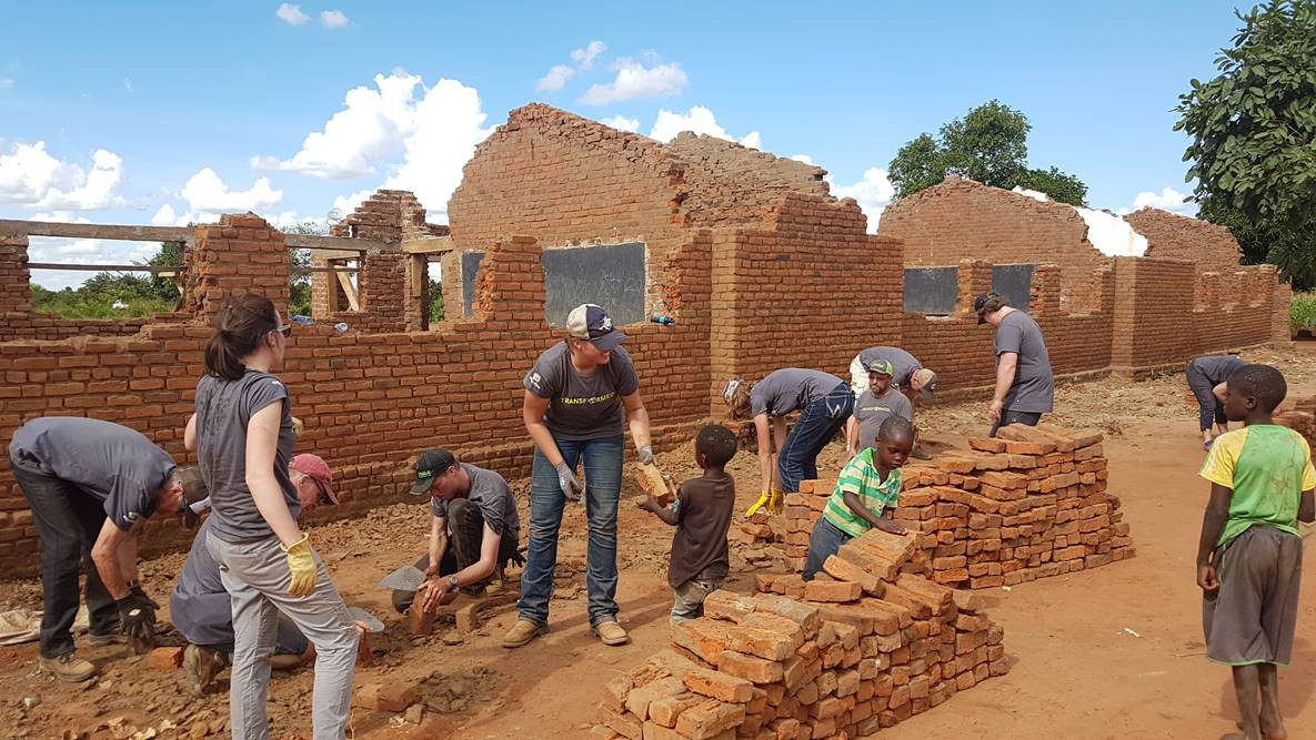 cleaning up bricks