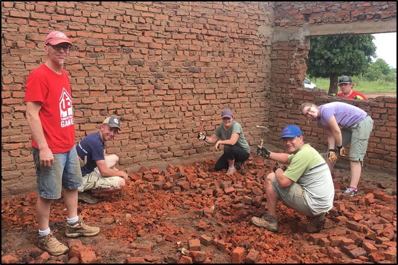 smashing bricks