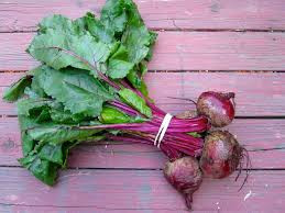 Beets & Beet Greens, and Colorful Beet Salad with Carrot & Quinoa