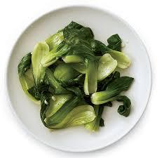 Bok Choy with Garlic