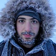 Swedish Lappland 4 - Self Portrait
