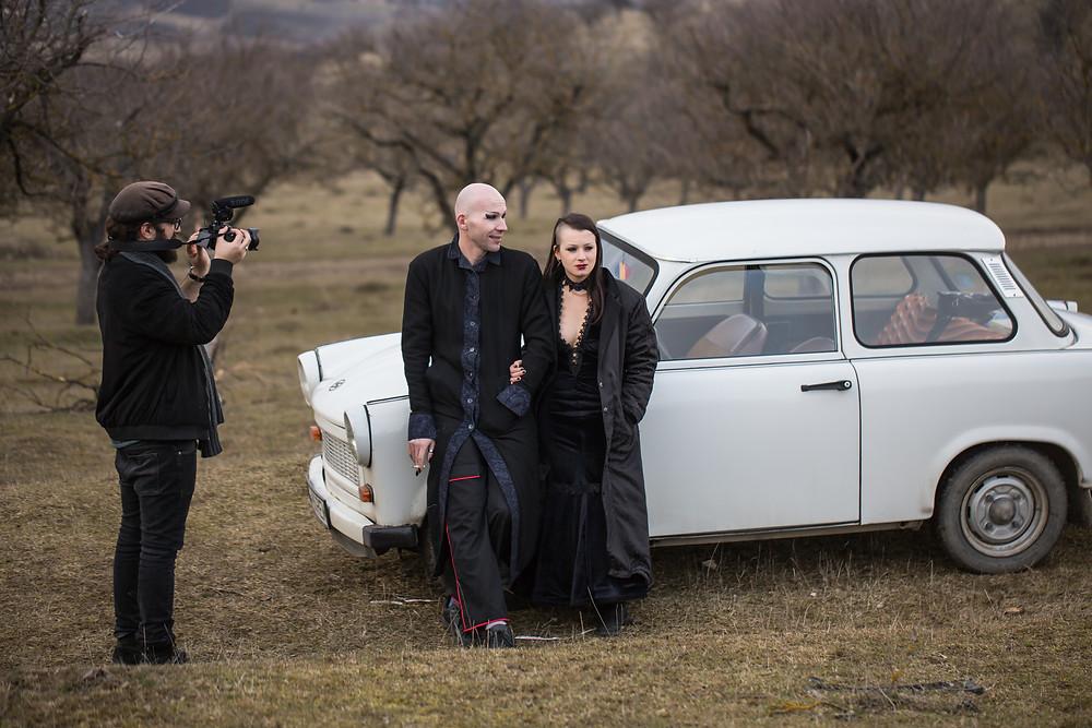 Filmmaker photographs tailors