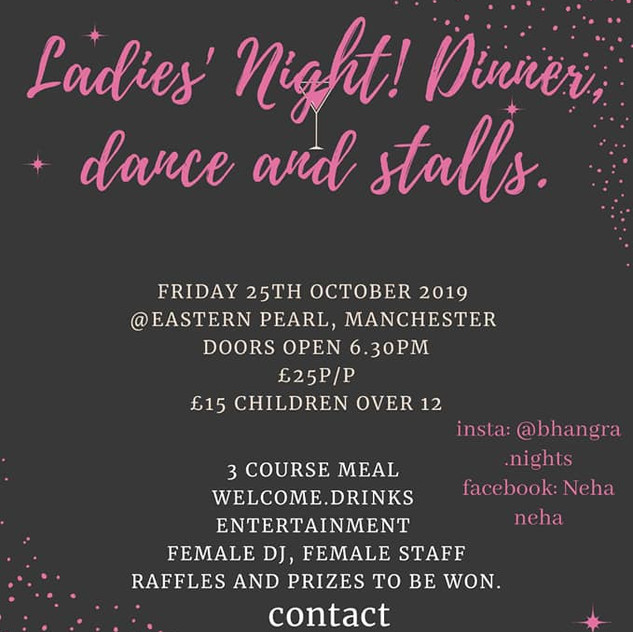 ladies only party, neha neha, 25.10