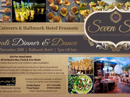 Diwali Dinner & Dance - Seven Seas Catering Brand Launch