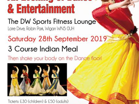 Little Drops Charity Dinner & Dance, Saturday 28th September 2019