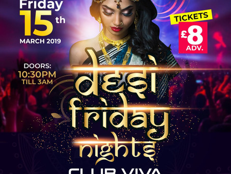Saturday Friday Asian Nightclub Party, Viva Nightclub, Manchester - March 15th 2019