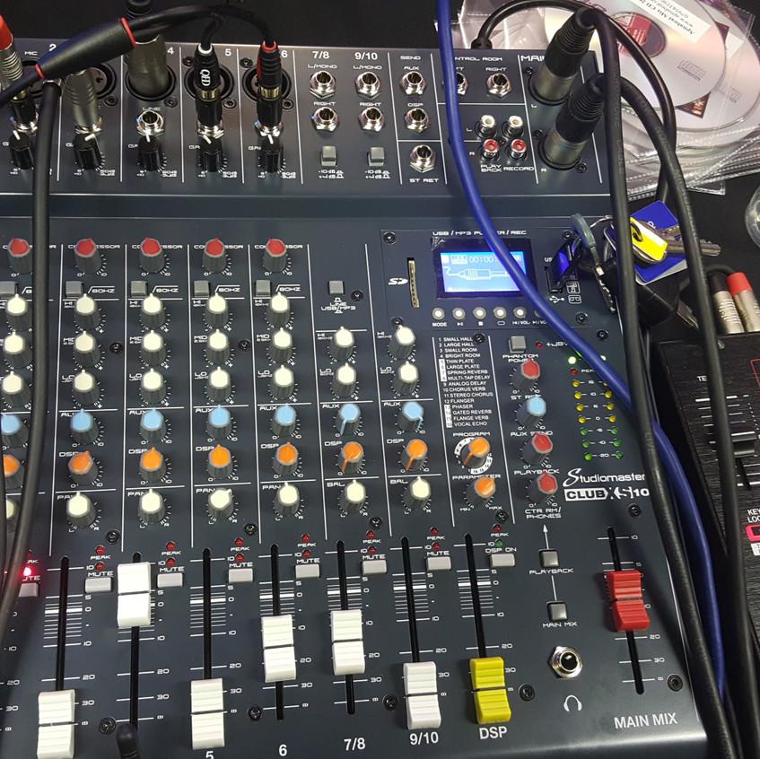 New mixing desk