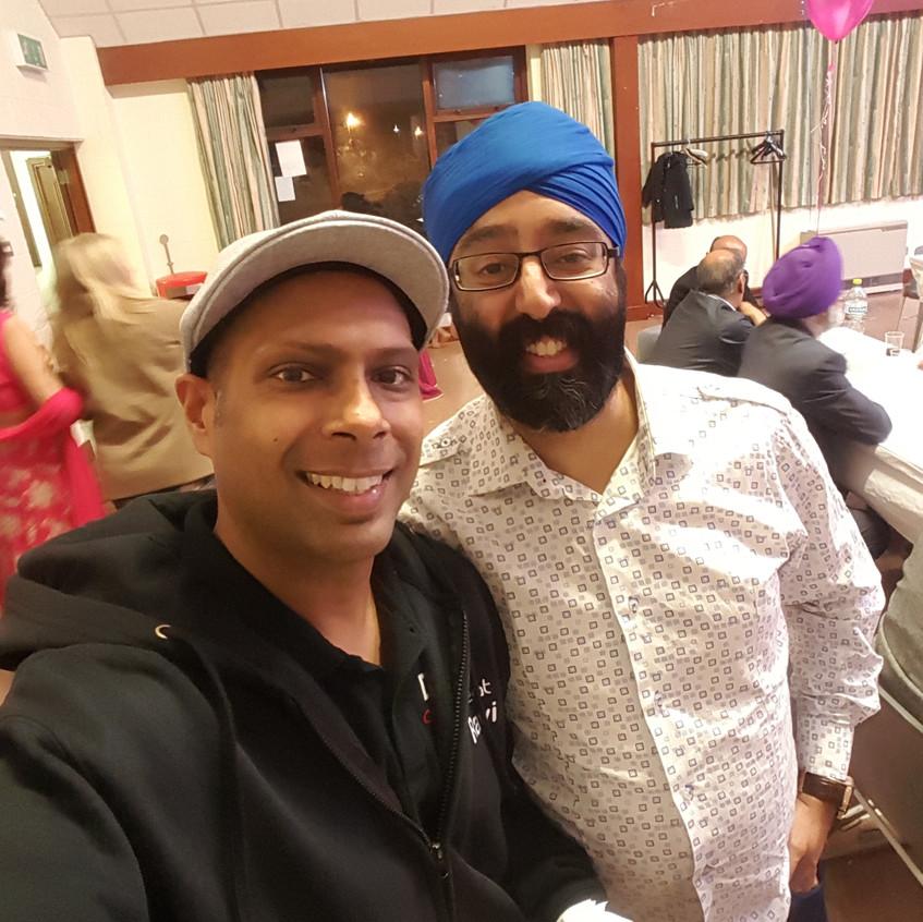 With Mr Retro Singh
