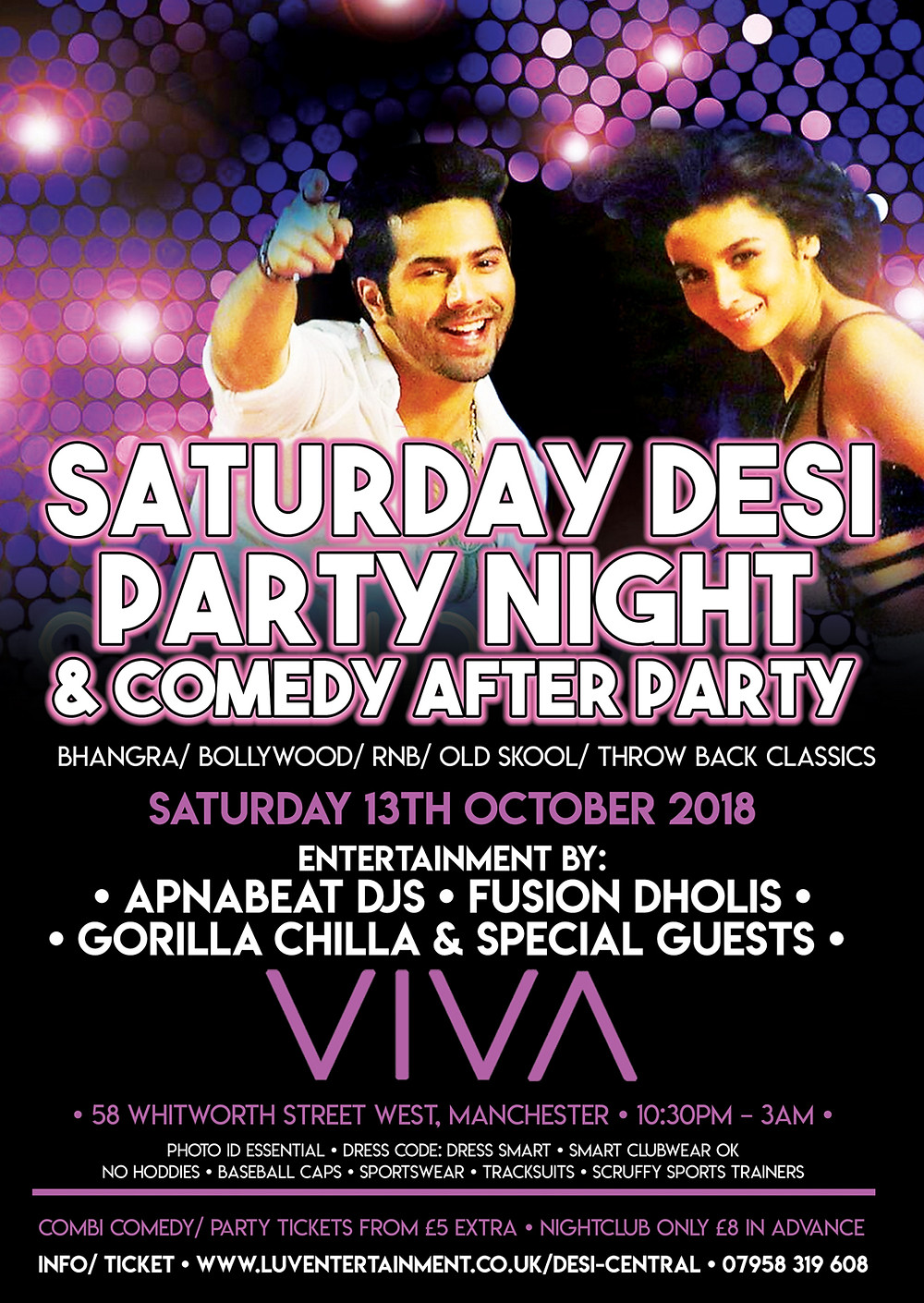 Saturday Saturday Desi Party Night
