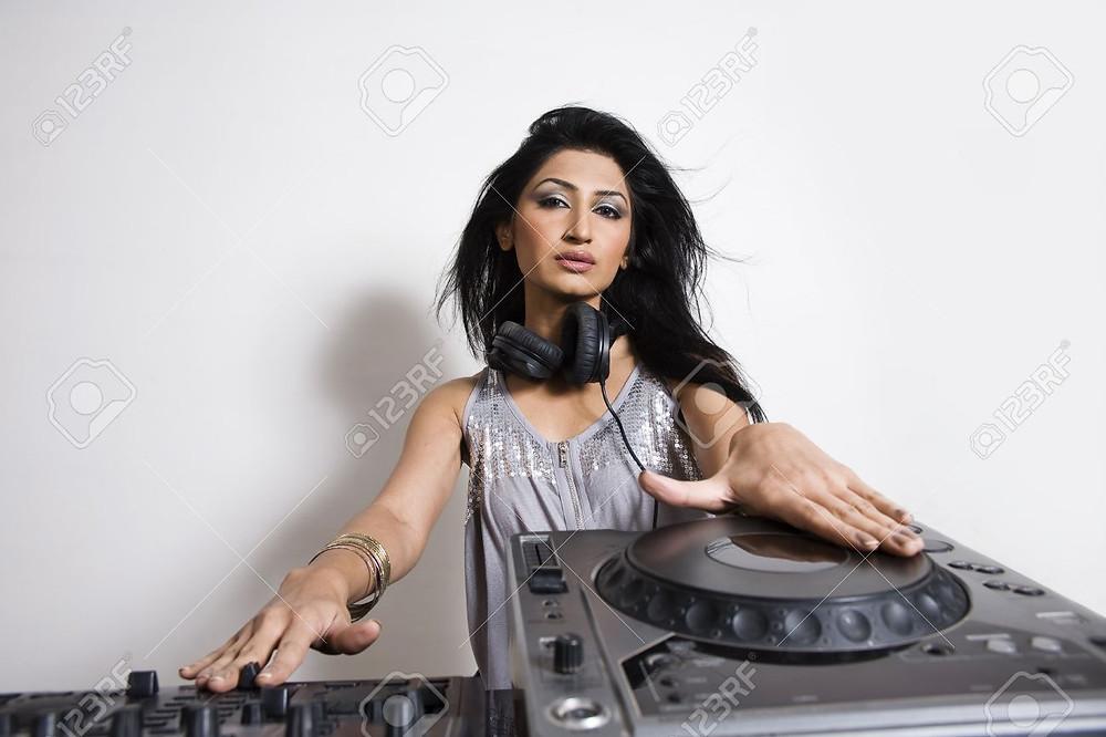 Asian Female DJ