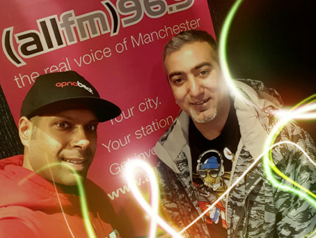 Apnabeat Radio Show - DJ Ravi ft Sanj Desi Fusion - 7th Feb 2017